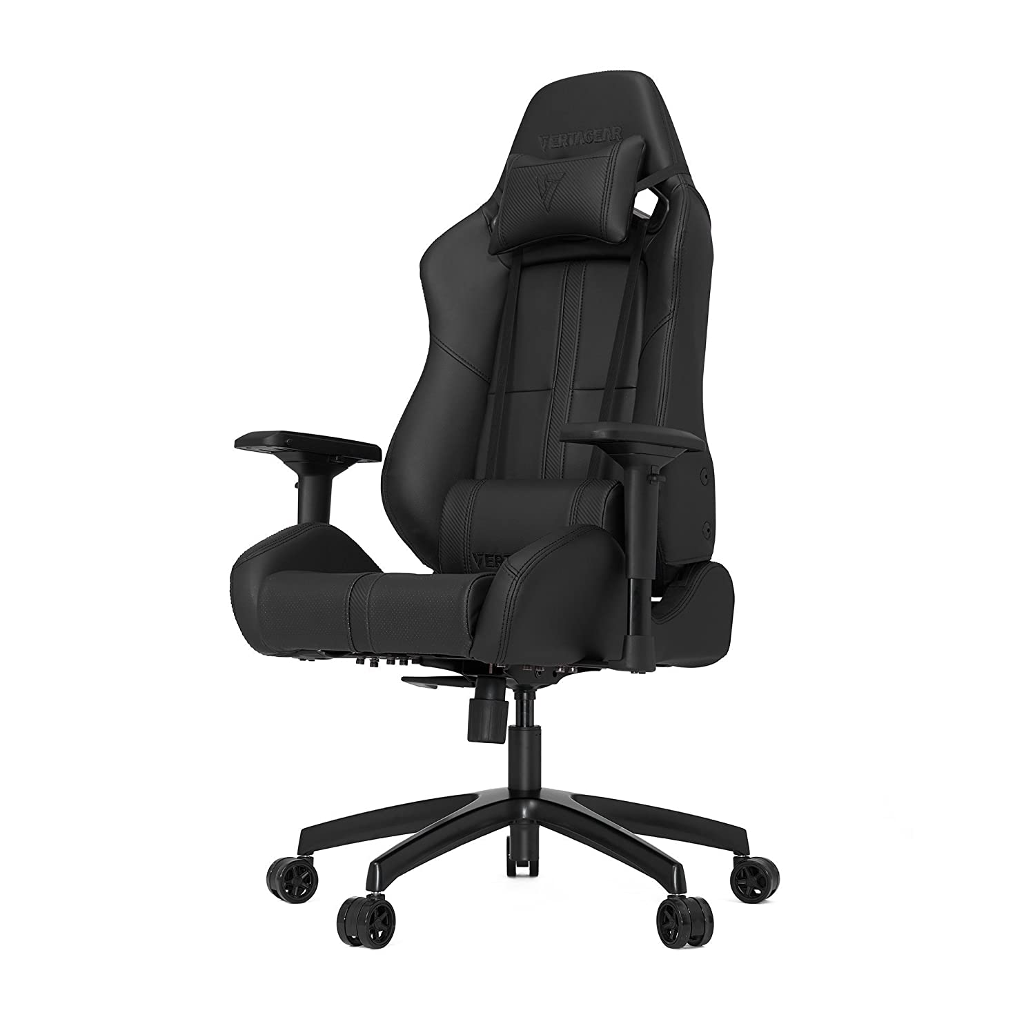 BPQJKFC amazon kitchen chairs Amazon com Vertagear S Line SL Racing Series Gaming Chair Carbon Black Rev 2 Kitchen Dining