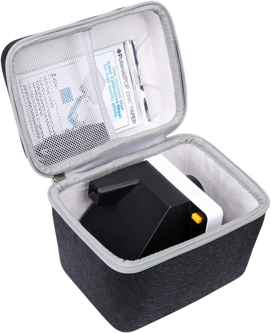 Grey-New Version Aproca Hard Travel Storage Case for Polaroid Originals 9003//9008//9009//9016 OneStep 2 Instant Film Camera