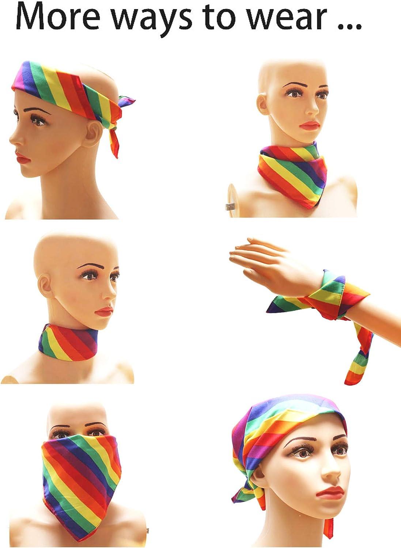 Rainbow Bandana Headband LGBT Pride