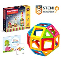 Deals on Magformers My First Set Multicolor Magnetic Tiles 30 Pieces