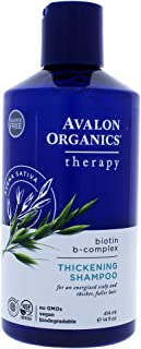 product image for Avalon Organics Biotin B-Complex Therapy Thickening Shampoo, 14 Ounce Bottle