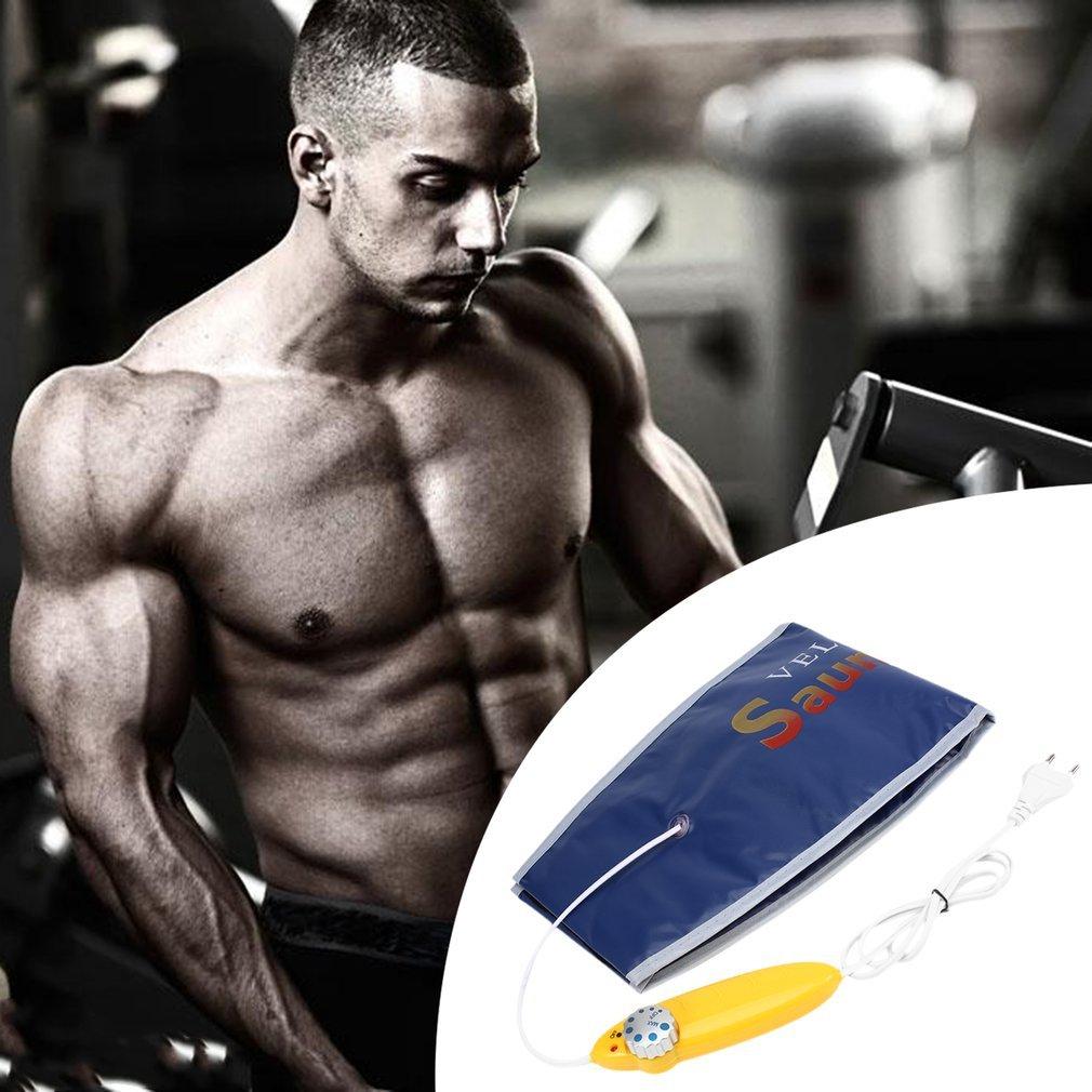 Ulable 220 V adelgazamiento ejercicio cintura sudor cintur/ón Wrap fat celulitis quemador fitness EU Plug