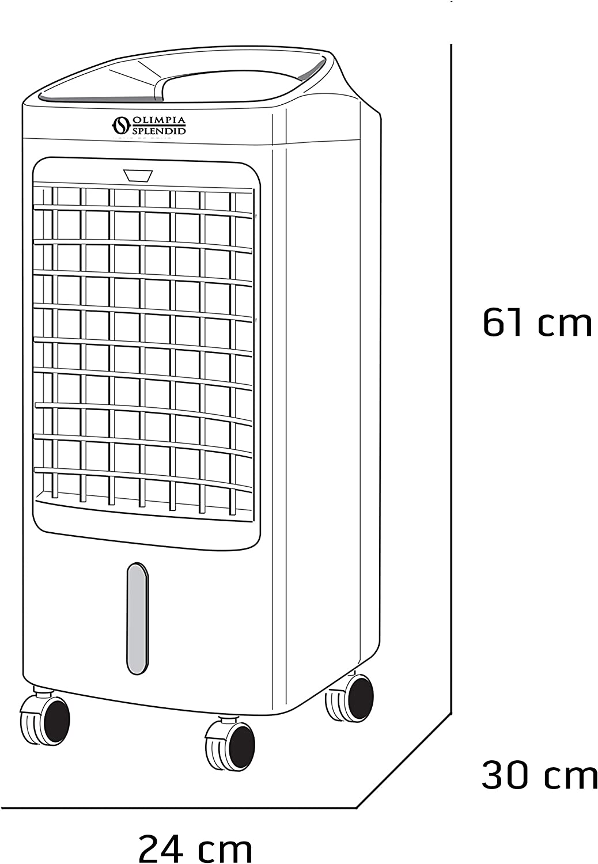 Olimpia Splendid Raffrescatore a Torre P/éler 4E con Telecomando 99429 Peler 4E Timer e Ampia Tanica Estraibile 3,5 litri
