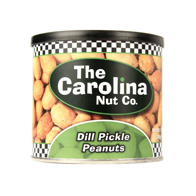 The Carolina Nut Company Peanuts, Dill Pickle Flavored, 12 oz