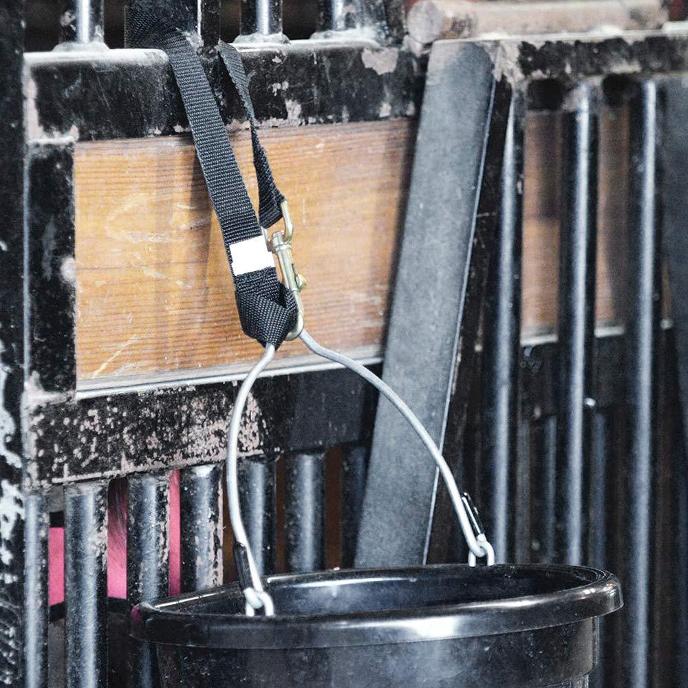 Cashel Loop-De-Loo, Feed Water Bucket Hanging Buckle Strap, Nylon Horse Tack Cashel Company