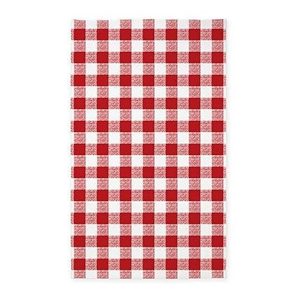 104c31ac30f8 CafePress Red Gingham Pattern Decorative Area Rug