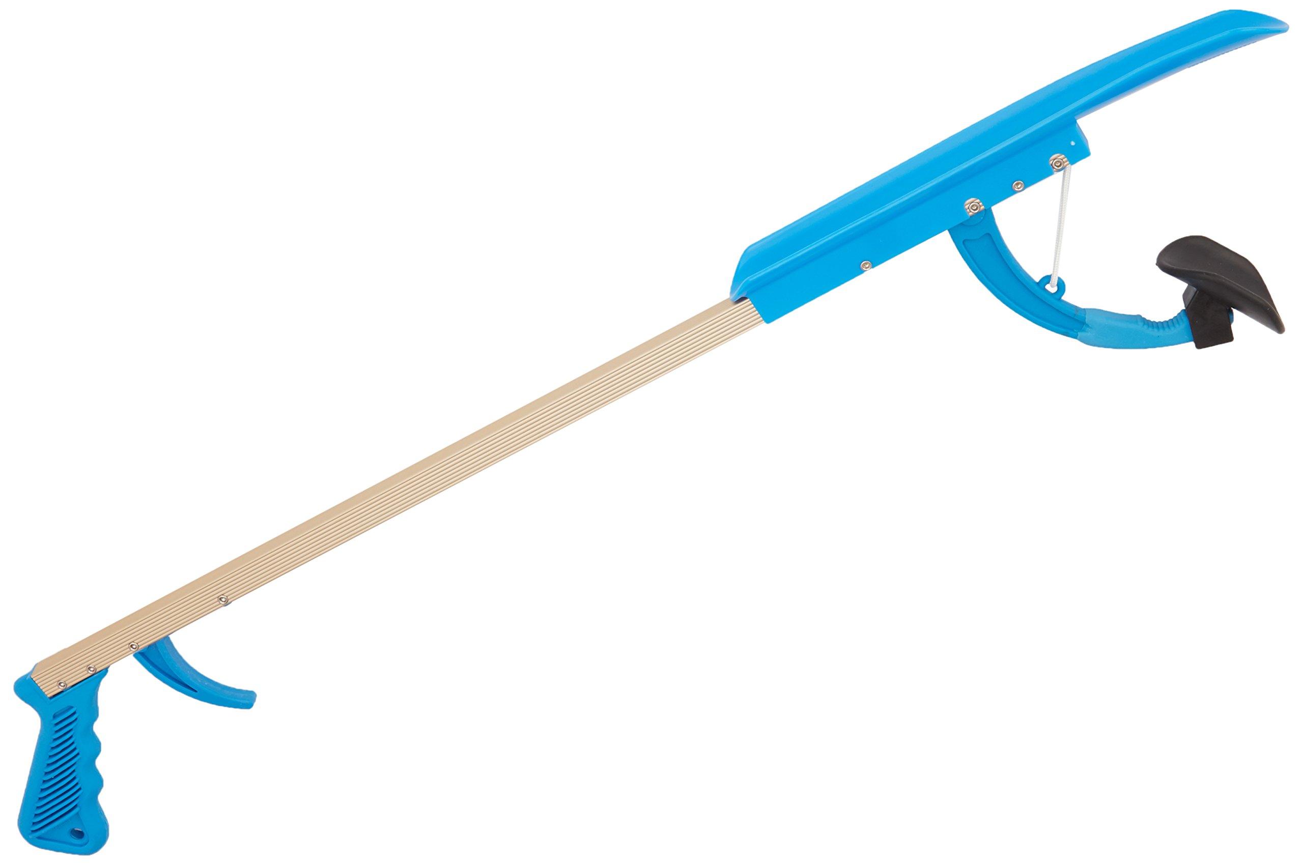 Sammons Preston 26'' Shoe Horn Reacher, Lightweight Extended Reacher Grabber for Picking Up Objects, Reaching & Grabbing Tool for Elderly & Limited Mobility, Shoehorn for Putting on Shoes