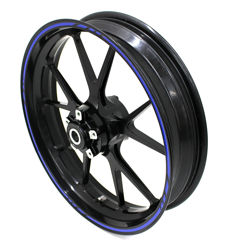 Motorking Autocollant pour jante GP-Design 16/pi/èces Kit complet/ /Finest Folia Convient pour 17/pouces /& 16/ 18/ 19/Jantes moto voiture v/élo