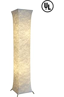 Lace tower floor lamp table lamps amazon modern floor lampfy light 52 inch contemporary design roman square column led floor aloadofball Image collections