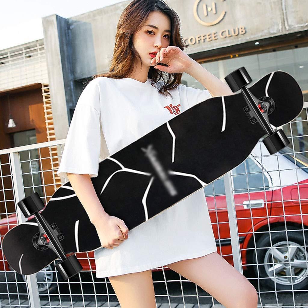 上等な DUWEN スケートボードメープルロングボード初心者スケートボードティーン四輪スクーター大人の男の子女の子ブラシストリートダンスボード (色 : : A C) B07R64LSGD C) A A, 棟梁の手作り家具学習机の棟梁屋:a0628f5a --- 4x4.lt