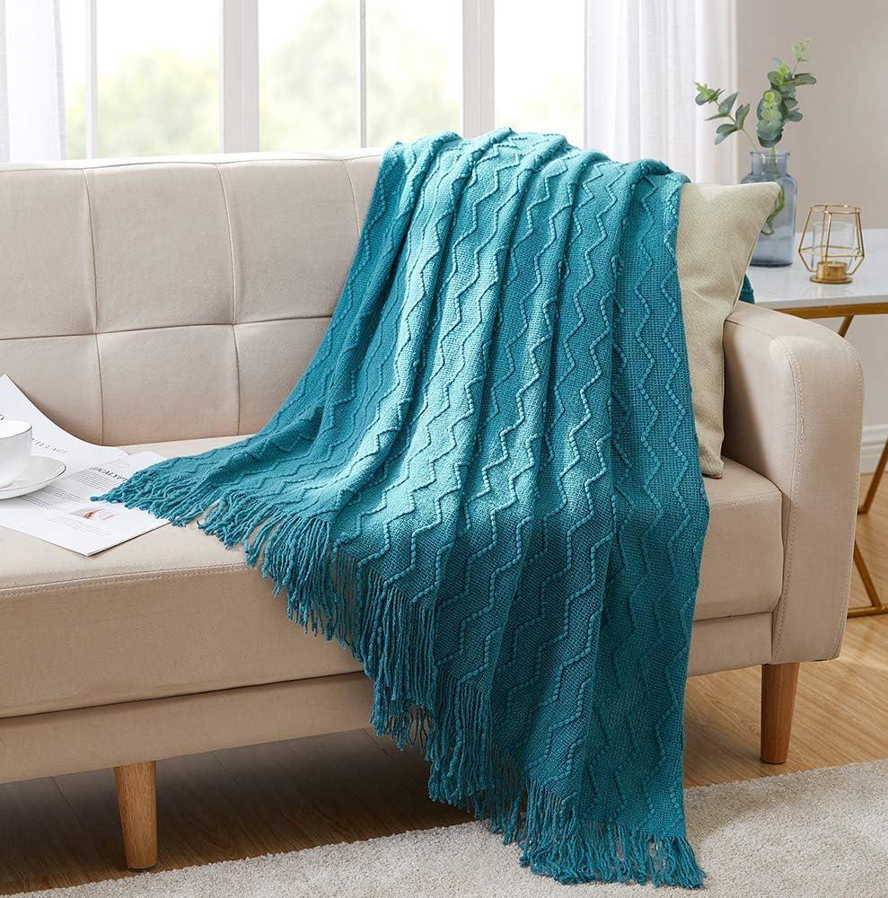 Bourina Throw Blanket Textured