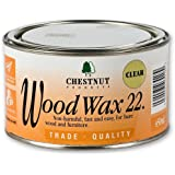 Chestnut WW22 Wood Wax 22 , 450ml Clear