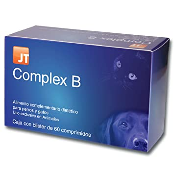 JTPharma 163030 Complex B - 60 Comprimidos: Amazon.es: Productos para mascotas