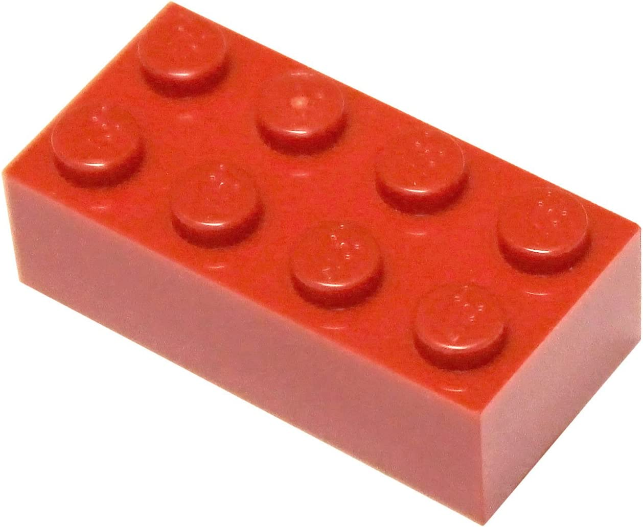 LEGO Parts and Pieces: Red (Bright Red) 2x4 Brick x20