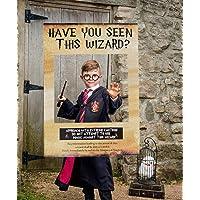 JeVenis Has visto este asistente Photo Booth Prop Wizard Wizard Photo Booth Frame Fiesta de cumpleaños Photo Booth Props