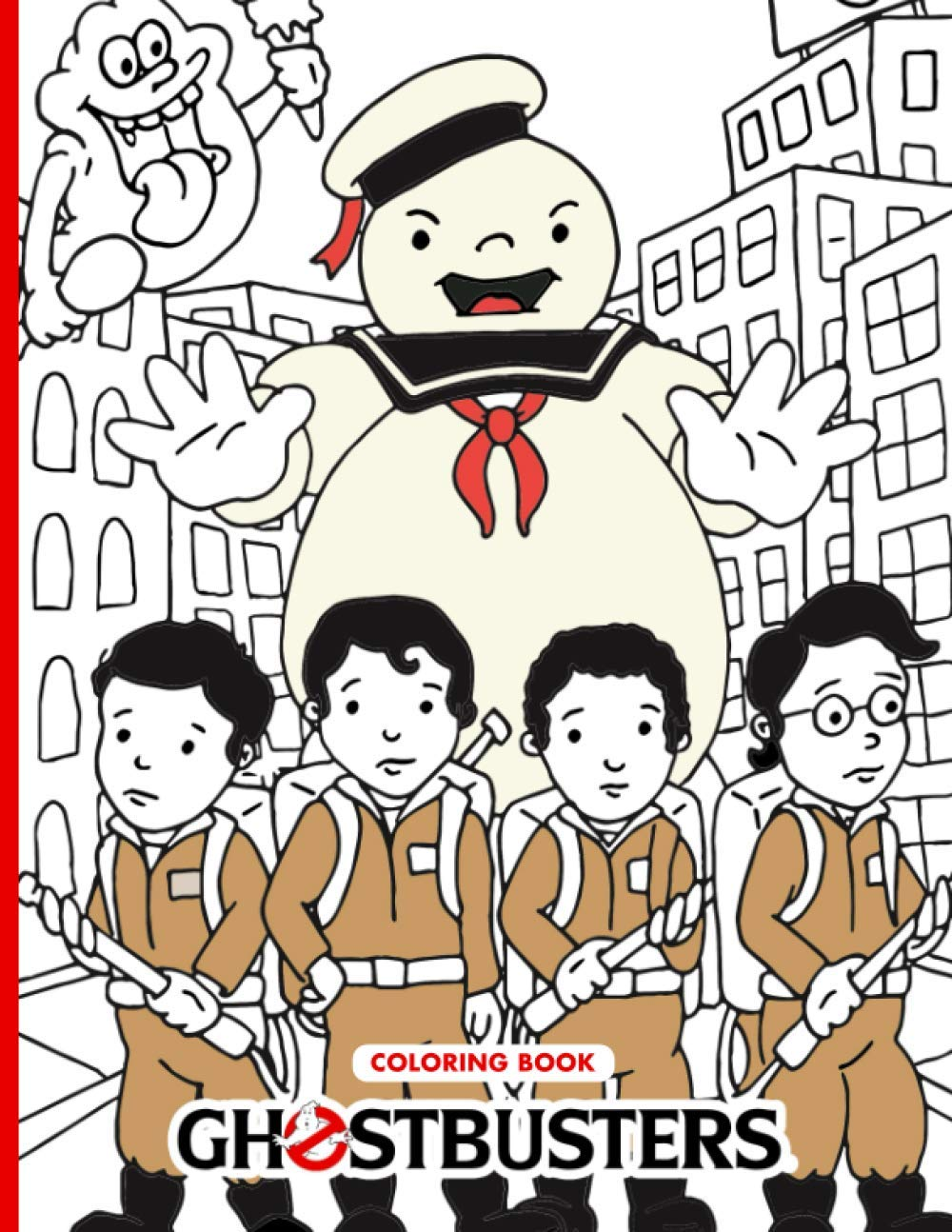 Amazon Com Ghostbusters Coloring Book Over 50 Ghostbusters Illustrations Confidence And Relaxation Coloring Books For Kid And Adult Color Wonder Creativity 9798697605684 Barbara Kenna Books