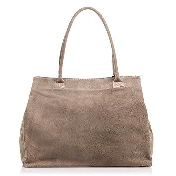 FIRENZE ARTEGIANI. Damen Handtasche aus echtem Leder