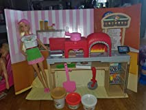 Great set for girls who love Barbie and Play-doh