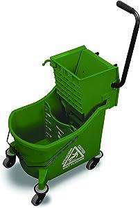 O-Cedar Commercial Maxi Plus Mop Bucket and Wringer, Green