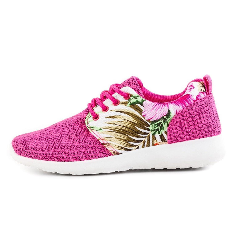 Stiefelparadies Zapatilla Baja Mujer, Color Rosa, Talla 37
