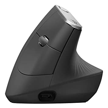 Logitech Mx Vertical Wire And Wireless Advanced Ergonomic Mouse For Less Muscular Strain by Logitech