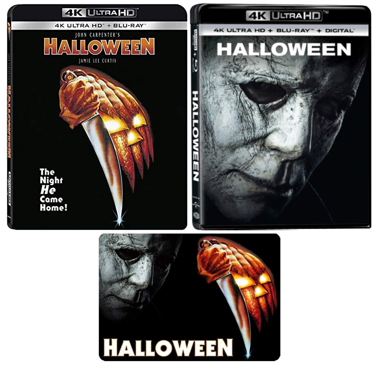 Amazon Com Halloween 1978 Original And 2018 Reboot 4k Ultra Hd Movie Collection With Bonus Glossy Art Card Jamie Lee Curtis Judy Greer Movies Tv