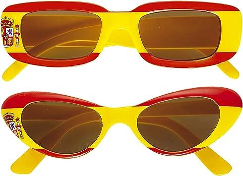 WIDMANN Gafas hincha Adulto España - Única , color, modelo surtido: Amazon.es: Juguetes y juegos