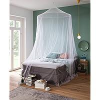 RSP® Moustiquaire Home Drap-Housse pour lit Double avec très Grand Anneau pour la Maison