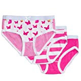 Amazon Price History for:Feathers Girls Butterfly Print Tagless Briefs Underwear Super Soft Panties 3 -Pack