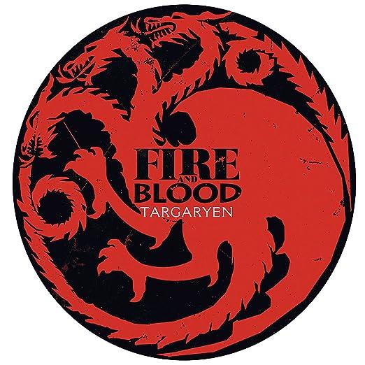 Fabulous Poster Cartel Juego De Tronos Casa Targaryen Fuego ...