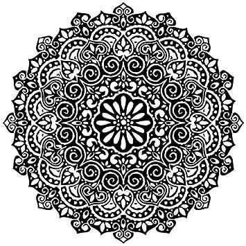 Amazon.com: Aisufen Yoga Mandala Indian Mehndi Buddha Oum Om ...