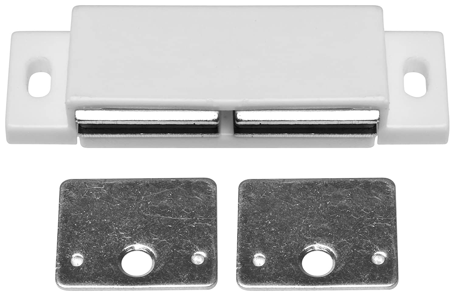 Stanley Hardware BB8174 Double Magnetic Cabinet Catch, Unfinished ...