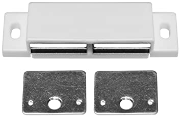 Stanley Hardware BB8174 Double Magnetic Cabinet Catch, Unfinished