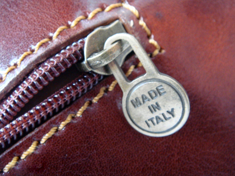 Rivello Genuine Leather Flapover Briefcase Small Briefcase Protective Dust Cover