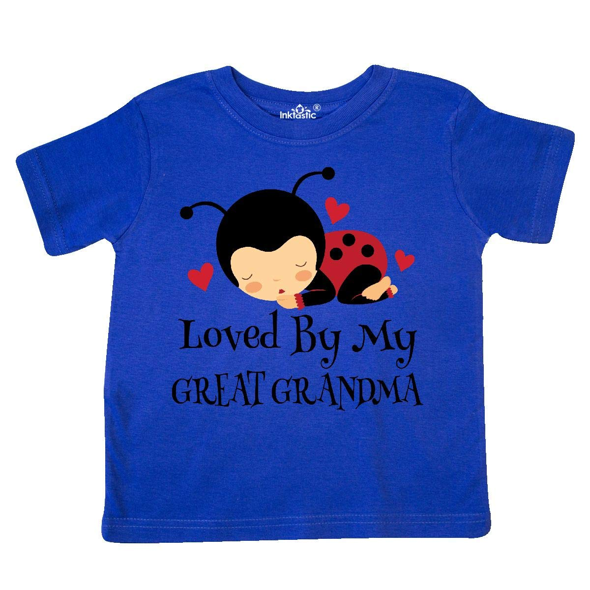 inktastic Loved by My Great Grandma Toddler T-Shirt