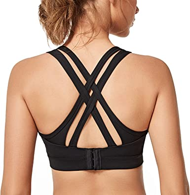 Beige, XXXL Womens Seamless Sports Bra Mesh Breathable Padded High Support Crop Yoga Tops High Impact Support Bounce Control,Front Zipper Closure Curve Bra