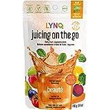 LYNQ Beauté - Mango-Peach Flavoured - Juicing On The Go - 110g ( Keto/ Vegan ), 110 Count