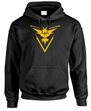 TEAM INSTINCT TRAINER Unisex Pullover Fleece Hoodie, Extra Large, Black