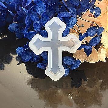 Bijoux Croix Silicone Résine Moulage Liquide De Moules Forme 4R3SLqAc5j