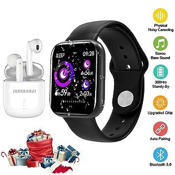 Auriculares Bluetooth y Reloj Inteligente, Auriculares ...