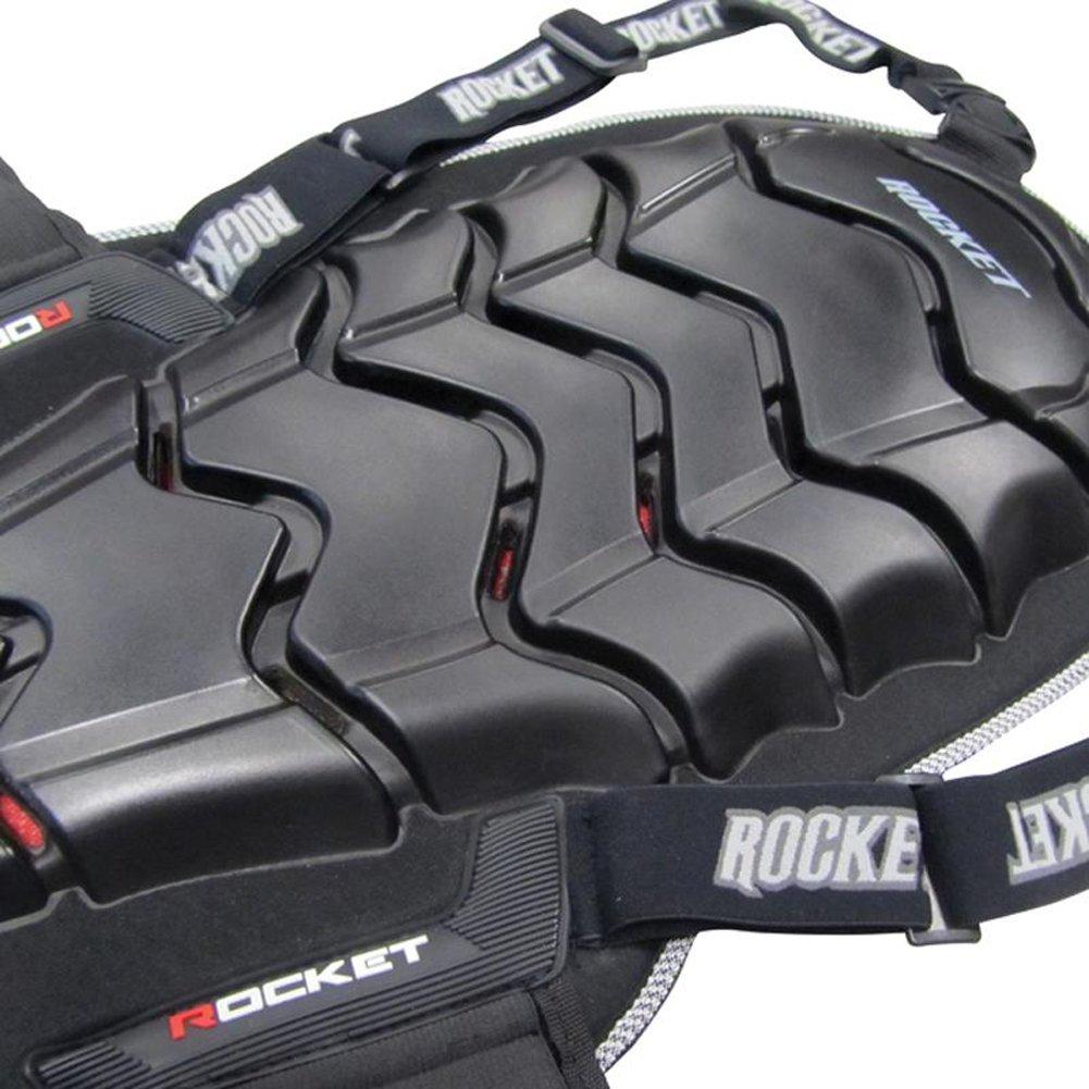 Joe Rocket Speedmaster 2.0 Adult Back Protector Sports Bike Motorycle Body Armor - Black / Large