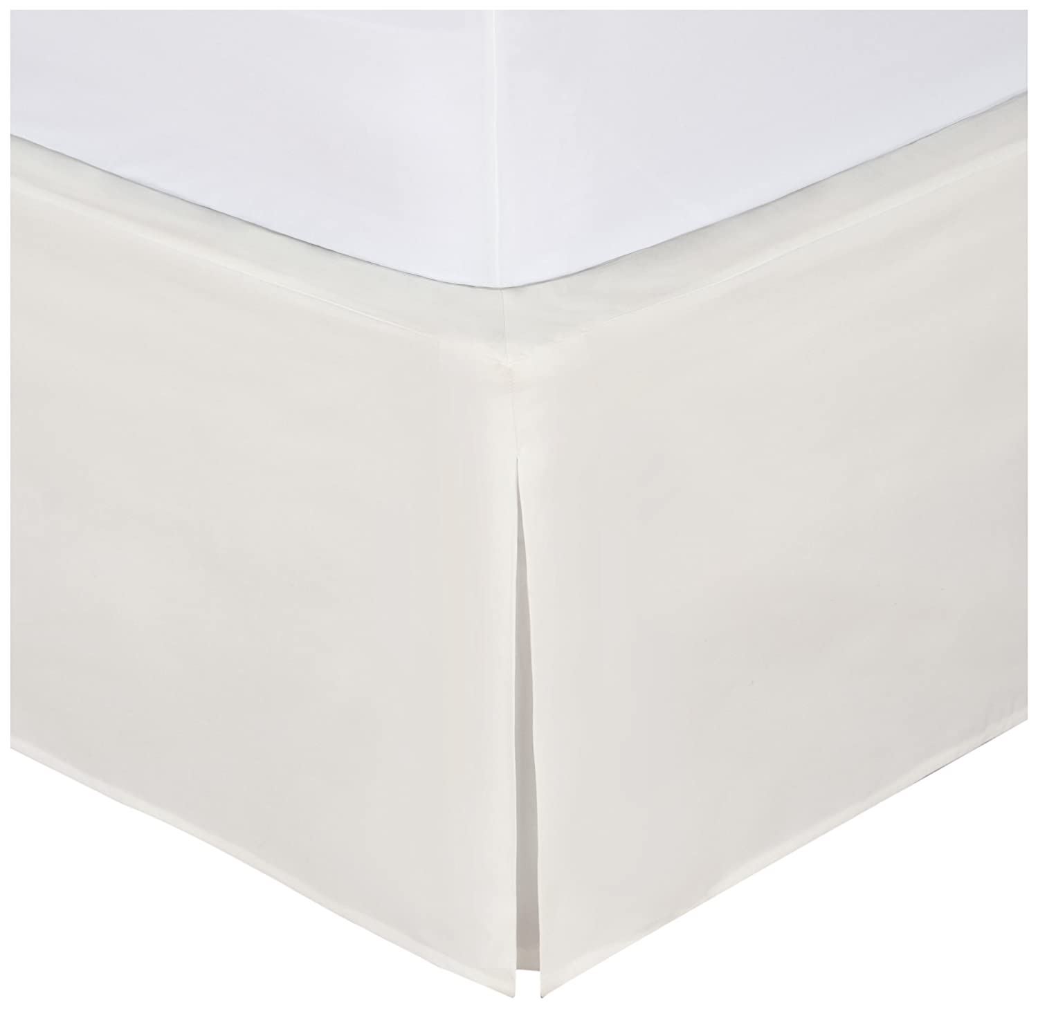 amazon com magic skirt tailored bedskirt never lift your mattress