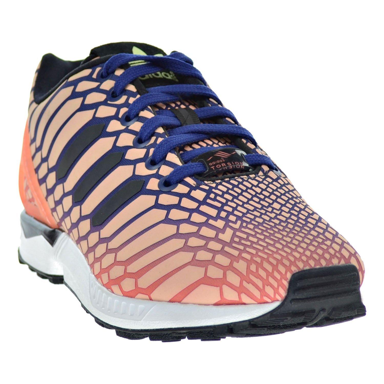 hot sale online 37a06 bf69a Amazon.com   adidas ZX Flux W Women s Shoes Sun Glow Ink White aq8230 (10.5  B(M) US)   Fashion Sneakers