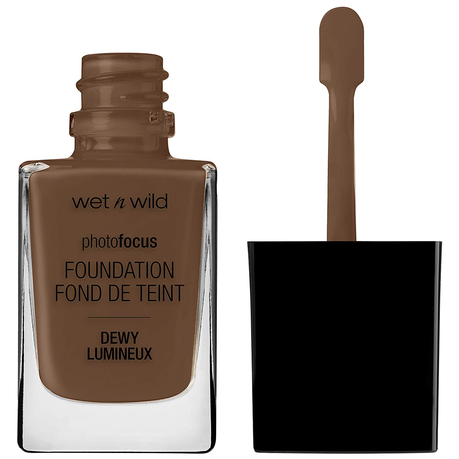 wet n wild Photo Focus Dewy Foundation, Deep Honey, 0.95 Ounces