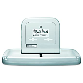 Koala Kare KB Horizontal Wall Mounted Baby Changing Station - Commercial bathroom baby changing table