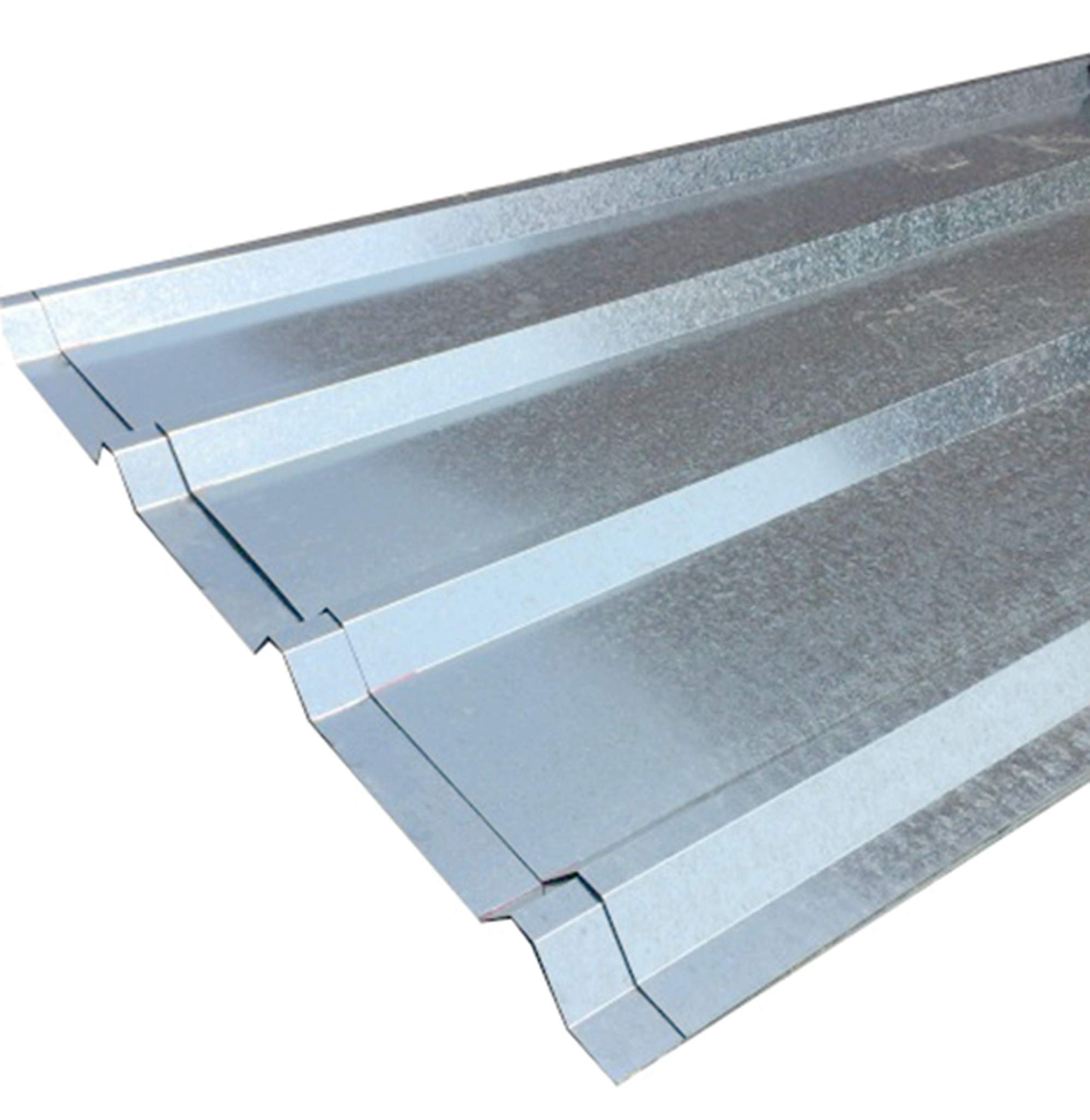 FixtureDisplays Unit of 10 Sheets of Corrugated Metal Roof Sheets Galvanized Metal 11525-10PC by FixtureDisplays