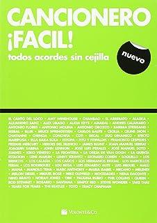 CANCIONERO - Cancionero Facil (Letras y Acordes Sin cejilla) para Guitarra