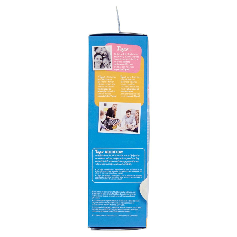 Tigex 2a Edad 360 ml Biber/ón cuello ancho