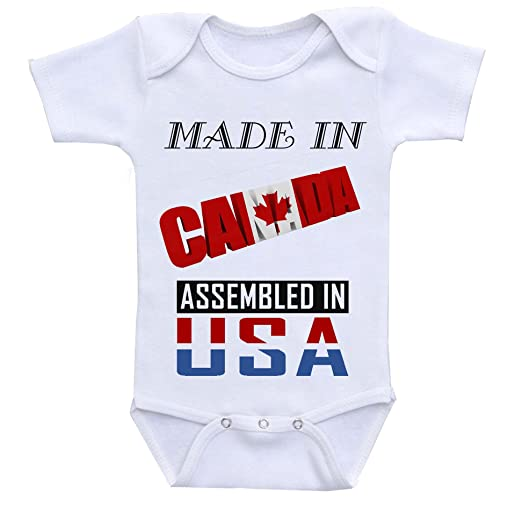 Amazon Com Made In Canada Assembled In The Usa Custom Boutique