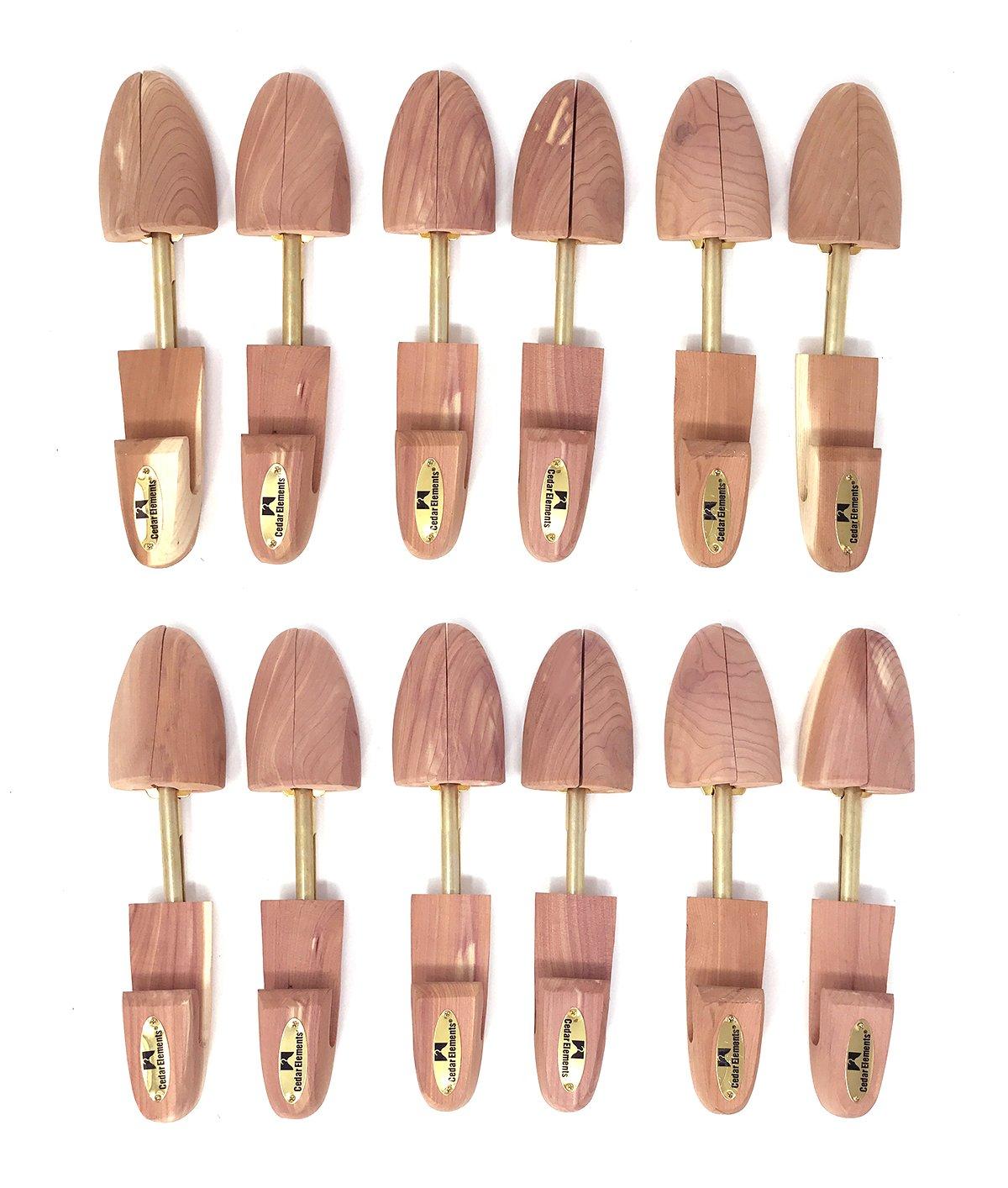 Cedar Elements Little Wholesale Prgram - Women Cedar Shoe Tree - 6 Pairs (Small)